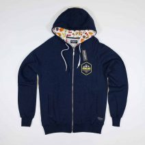 Mount Emblem Zip-hood | Navy