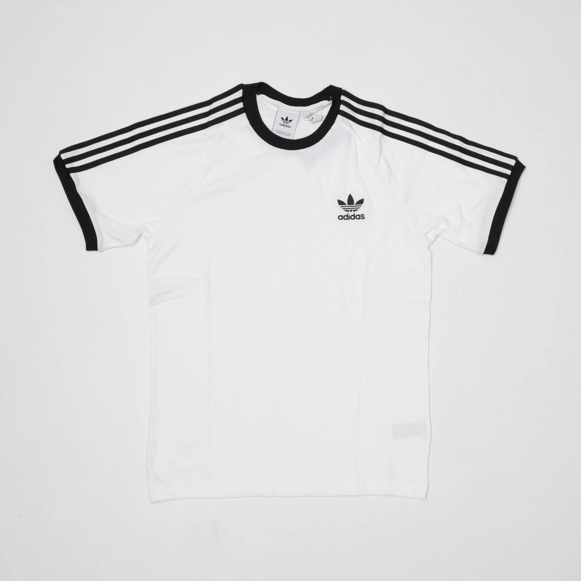 3 Stripes T Shirt   White
